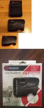 simmons volt 600 rangefinder. range finders 31712: simmons lrf 600 rangefinder with tilt intelligence -\u003e buy it now volt