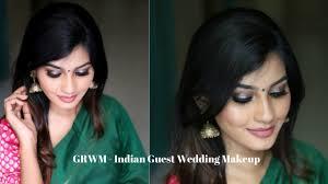 get ready with me indian wedding guest makeup olivia anugraha you