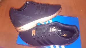 adidas zx flux black and gold womens. rare adidas zx flux black rose gold copper size 5 zx flux and womens a