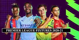 premier league fixtures 2020 21