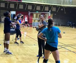 About Coach April Chapple   Famous volleyball players, Volleyball training,  Coaching volleyball