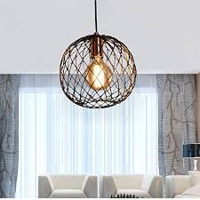 metallic pendant lighting design discoveries. FOSHAN MINGZE Retro Industrial Round Cage Pendant Light Copper Finished Metal Ceiling Hanging Metallic Lighting Design Discoveries Y