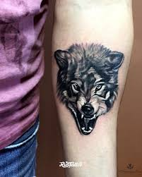 волк татуировки Rustattooru симферополь