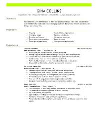 cover letter production coordinator resume production examples tv supervisorfilm resume examples medium size cover letter for entertainment industry