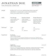 Microsoft Word Resume Templates Resume Format In Word Resume