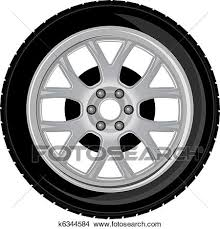 tires and rims clipart.  Tires Clipart  Wheel And Tire Fotosearch Search Clip Art Illustration  Murals Drawings In Tires And Rims