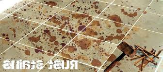 removing rust from tiles how to remove rust stains from bathroom tiles how to remove rust from tile floor