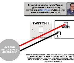 single light switch wiring diagram uk the best wiring diagram 2017 how to wire a light switch diagram at Wiring Diagram For One Way Light Switch
