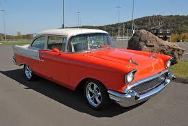 1957 Chevy 150 2 door post hardtop- frame on restoration that was ...