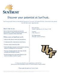 UCF WS Info Session Flyer - SunTrust (09-24-13)