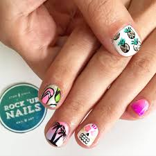 Easy Summer Nail Art For Short Nails - Best Nails 2018