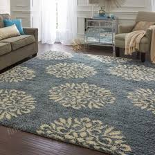 mohawk home bay blue huxley exploded medallions area rug 8 x 10