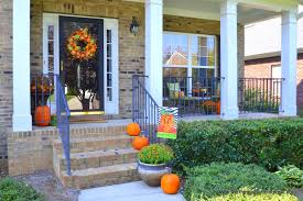 Fall Porch Decorating My Fall Decorations On The Front Porch Worthing Court