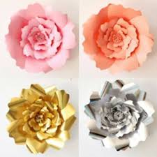 Diy Giant Paper Rose Flower 2pcs Handmade Giant Paper Rose Flower 20cm Diy Backdrop Wall