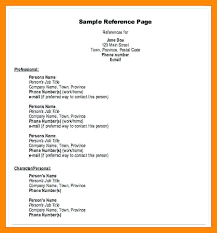 Employment Reference Sheet Resume Reference Page Examples References In Resume Examples Resume