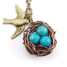 nest pendant robin s eggs pendant wire