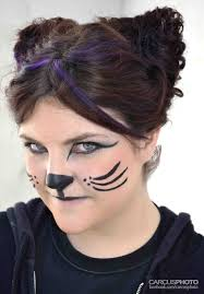 pin by nancy torres on pintacaritas face kitty cat face painting tutorial easy makeup