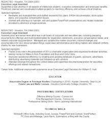 Paralegal Resume Unique Litigation Paralegal Cover Letter Sample Litigation Paralegal Resume