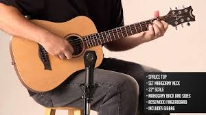 travel size guitar dean guitars flight series travel guitars youtube