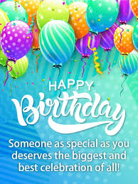 Card Bday Happy Birthday Balloon Cards Birthday Greeting Cards By