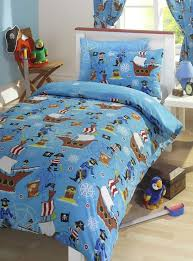 pirate blue junior toddler bed size duvet cover pillowcase set co uk kitchen home