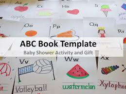 Baby Book Template Abc Book Template For Baby Shower Cuppacocoa