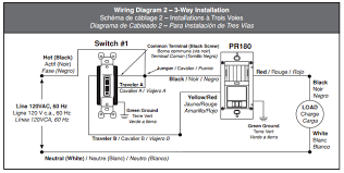 leviton 4 way wiring diagram electrical how do i wire a 3 way motion sensor home leviton 3 way wiring