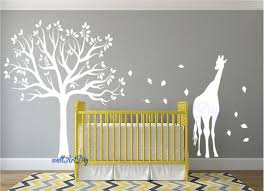 baby room tree wall stencils