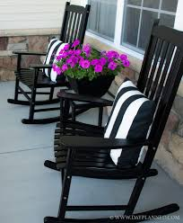 Perfect Furniture For Porch I Love The Black Can Spraypaint My Rocker To Simple Ideas