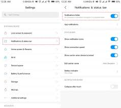 How To Customize Notifications Status Bar In Miui Tips