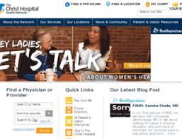 Mychart Christ Hospital At Top Accessify Com