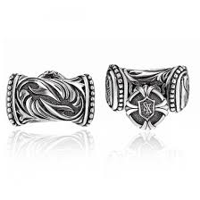 scott kay sterling silver men s sparta end cufflinks