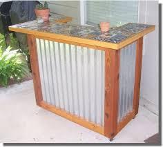 Outdoor Bar Furniture Build your own Patio Bar Set Outdoor Bar