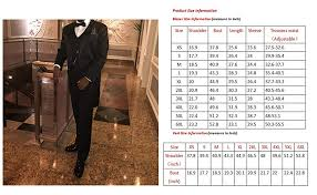 Cloudstyle Mens Tailcoat Formal Slim Fit 3 Piece Suit Dinner Jacket Swallow Tailed Coat