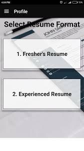 Modern Resume Template Cnet Free Resume Builder Cv Maker Templates Formats App For Android