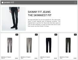 Uniqlo Clothing Size Chart How Can Retailers Make It Easier To Buy Jeans Online