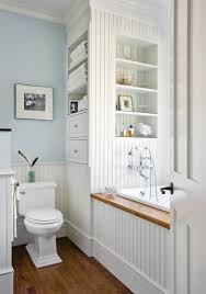 clever use of built ins is a great solution when space is at the premium