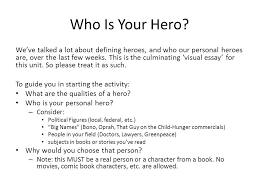 what makes a hero subject autopsy who is your hero we ve talked  who is your hero