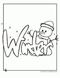 Small Picture Winter Coloring Pages Coloring pages Pinterest Coloring