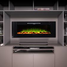 or freestanding designer electric fireplace