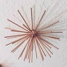 image is loading rose gold burst metal wall decor small on rose gold wall art metal with rose gold burst metal wall decor small ebay