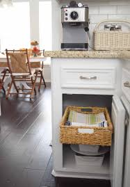 Pull Out Kitchen Shelves Diy Diy Pull Out Basket For The Kitchen Mounted In Minutes Once