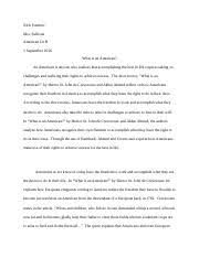 the crucible essay nick sombric mrs sullivan american lit h the 4 pages what is an american essay