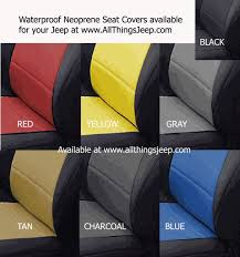 jeep wrangler unlimited seat covers all things jeep coverking neoprene rear seat covers for jeep of