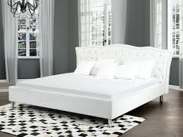 bedroom white leather headboard king images bedroom interior