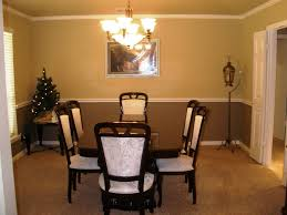 Home Design  Dining Room Colors And Paint On Pinterest Throughout - Dining room color ideas with chair rail