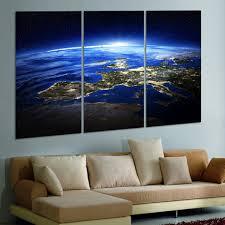 aliexpresscom  buy  panel modern sunrise space universe picture