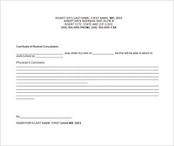 Doctors Notes Examples Doctor Note Templates For Work 7 Free Sample Example