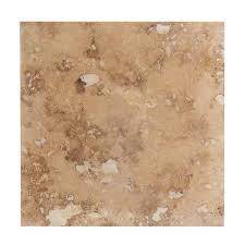 Travertine Tile - Antique Pattern Sets - Meandros Walnut Standard / Antique  .