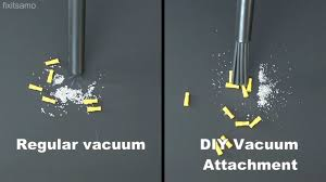 picture of how to make a vacuum attachment easy diy vacuum extension